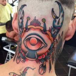 Jed Harwood Tattoo Workshop Cyclops Crab