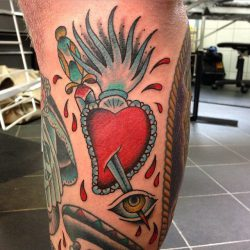 Jed Harwood Tattoo Workshop Sacred Heart